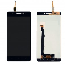 LCD Screen and Digitizer Full Assembly for Lenovo A7000 (Black)