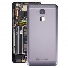 Aluminium Alloy Back Battery Cover for ASUS ZenFone 3 Max / ZC520TL(Black)