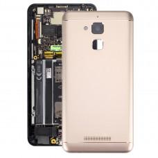 Aluminium Alloy Back Battery Cover for ASUS ZenFone 3 Max / ZC520TL(Gold)