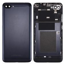 Back Battery Cover for Asus ZenFone 4 Max / ZC554KL (Deepsea Black)