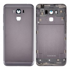 Aluminum Alloy Back Battery Cover for Asus ZenFone 3 Max / ZC553KL (Grey)