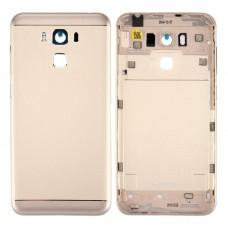 Aluminum Alloy Back Battery Cover for Asus ZenFone 3 Max / ZC553KL (Gold)