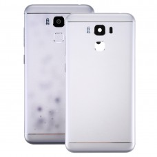 Aluminum Alloy Back Battery Cover for Asus ZenFone 3 Max / ZC553KL (Silver)