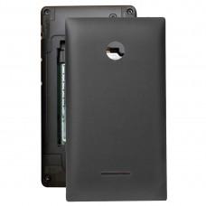 Battery Back Cover  for Microsoft Lumia 435(Black)