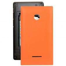 Battery Back Cover for Microsoft Lumia 435(Orange)
