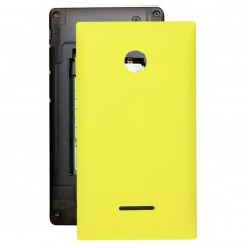 Battery Back Cover  for Microsoft Lumia 435(Yellow)