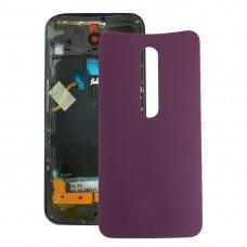 Battery Back Cover for Motorola Moto X (Purple)