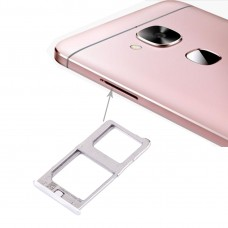 For Letv Le Max / X900 SIM Card Tray(Silver)