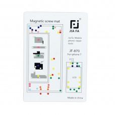 JIAFA Magnetic Screws Mat for iPhone 7