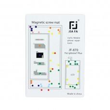 JIAFA Magnetic Screws Mat for iPhone 7 Plus