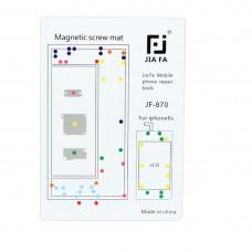 JIAFA Magnetic Screws Mat for iPhone 6s