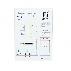 JIAFA Magnetic Screws Mat for iPhone X