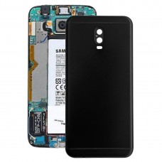 Back Cover for Galaxy C7 (2017), J7+, C8, C710F/DS, C7100(Black)