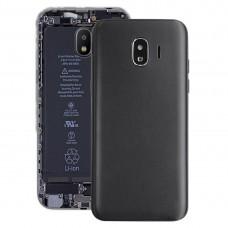 Back Cover + Middle Frame Bezel Plate for Galaxy J2 Pro (2018), J2 (2018), J250F/DS(Black)