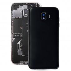 Back Cover + Middle Frame Bezel Plate for Galaxy J4, J400F/DS, J400G/DS(Black)