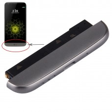 (Charging Dock + Microphone + Speaker Ringer Buzzer) Module for LG G5 / H820(Grey)
