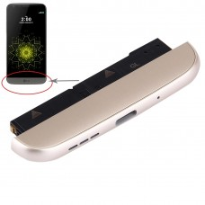 (Charging Dock + Microphone + Speaker Ringer Buzzer) Module for LG G5 / H820(Gold)