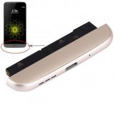 (Charging Dock + Microphone + Speaker Ringer Buzzer) Module for LG G5 / H858(Gold)