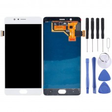 For ZTE Nubia M2 / NX551J LCD Screen and Digitizer Full Assembly(White)