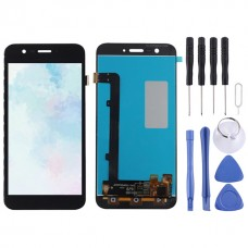 LCD Screen and Digitizer Full Assembly for Vodafone Smart Prime 7 VF600 / VFD600 / VF D600(Black)