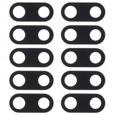 10 PCS Back Camera Lens Cover for Nokia 3(Black)