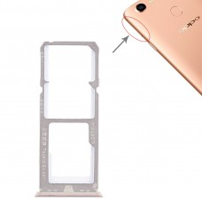 2 x SIM Card Tray + Micro SD Card Tray for OPPO A79(Gold)