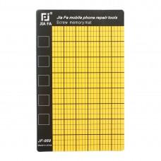 JF-869 Universal Magnetic Screws Mat for Phone Repair, Size: 14.5x9cm