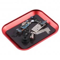 Aluminium Alloy Screw Tray Phone Repair Tool(Red)