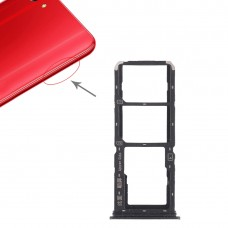 2 x SIM Card Tray + Micro SD Card Tray for Vivo Y83(Black)