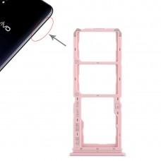 2 x SIM Card Tray + Micro SD Card Tray for Vivo Y97(Rose Gold)