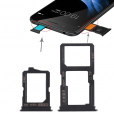 2 x SIM Card Tray + Micro SD Card Tray for Vivo Y66(Black)