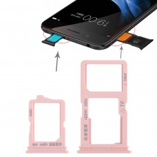 2 x SIM Card Tray + Micro SD Card Tray for Vivo Y66(Rose Gold)