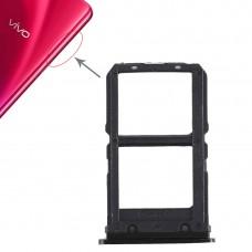 2 x SIM Card Tray for Vivo X23(Black)