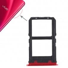 2 x SIM Card Tray for Vivo X23(Red)