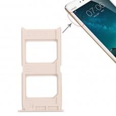 2 x SIM Card Tray for Vivo V3(Gold)