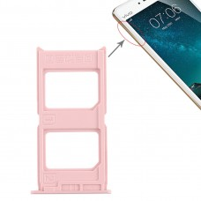2 x SIM Card Tray for Vivo V3(Rose Gold)