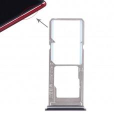 2 x SIM Card Tray + Micro SD Card Tray for Vivo Z1(Purple)