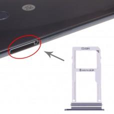 SIM Card Tray + SIM Card Tray / Micro SD Card Tray for LG V30 VS996 LS998U H933 LS998U (Black)
