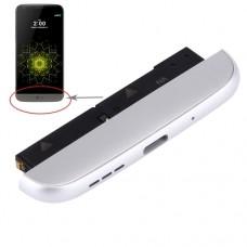 (Charging Dock + Microphone + Speaker Ringer Buzzer) Module for LG G5 / F700K (KR Version)(Silver)
