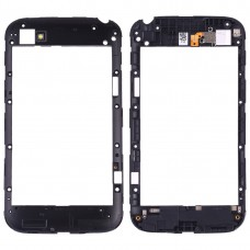 Back Plate Housing Camera Lens Panel for Blackberry Q20 (Black)