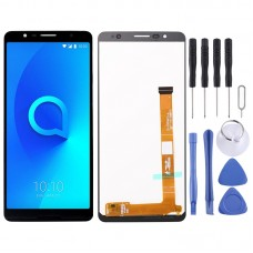 LCD Screen and Digitizer Full Assembly for Alcatel 3C OT5026 (Black)