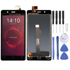LCD Screen and Digitizer Full Assembly for BQ Aquaris E4.5 (Black)