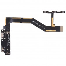 Charging Port Board + Motherboard Flex Cable + Power Button & Volume Button Flex Cable for BQ Aquaris M5
