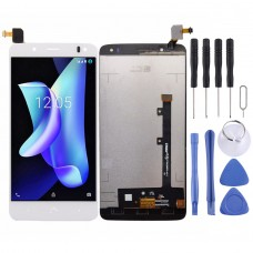 LCD Screen and Digitizer Full Assembly for BQ Aquaris  U2 U2 Lite(White)