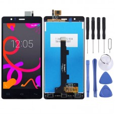 LCD Screen and Digitizer Full Assembly for BQ Aquaris E5 (0760) (Black)