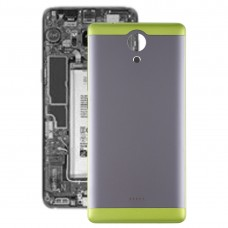 Battery Back Cover with Side Skys for Wiko U Feel(Green)