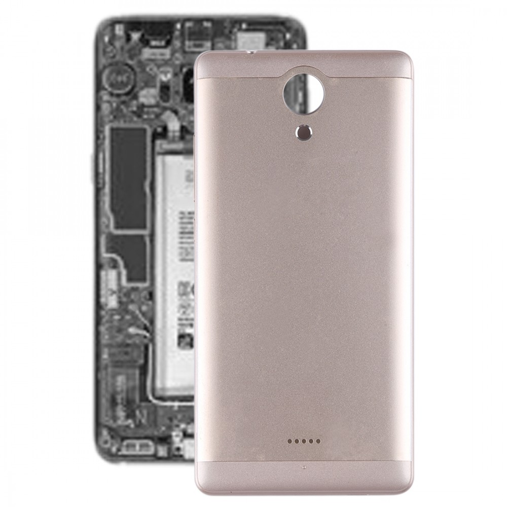 Battery Back Cover with Side Skys for Wiko U Feel(Gold)