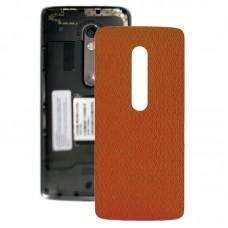 Battery Back Cover for Motorola Moto X Play XT1561 XT1562(Orange)