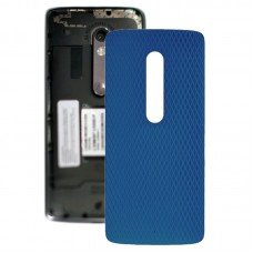 Battery Back Cover for Motorola Moto X Play XT1561 XT1562(Blue)