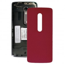 Battery Back Cover for Motorola Moto X Play XT1561 XT1562(Red)